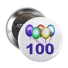 100th Birthday Button