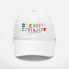 Coexistentialist Baseball Baseball Cap