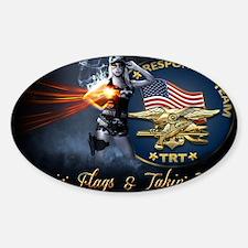 TRT Main Background Sticker (Oval)