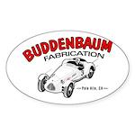 Buddenbaum Oval Sticker