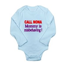 CALL NONA. Mommy Is Misbehaving Body Suit