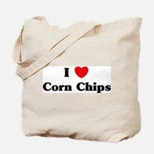 I love Corn Chips Tote Bag