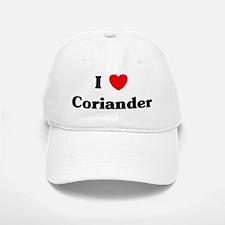 I love Coriander Baseball Baseball Cap