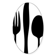 Silverware Decal