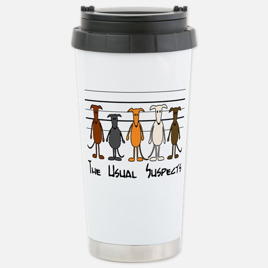 The usual suspects Stainless Steel Travel Mug