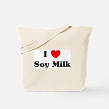 I love Soy Milk Tote Bag