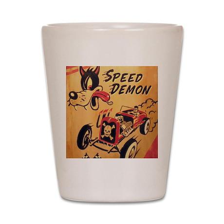 Speed Demon Shot Glass