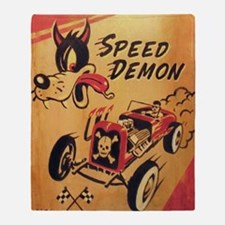 Speed Demon Throw Blanket