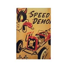 Speed Demon Rectangle Magnet