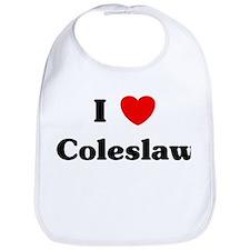I love Coleslaw Bib