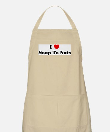 I love Soup To Nuts BBQ Apron