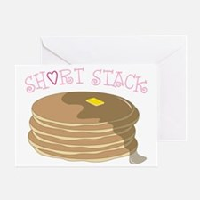 Short Stack Greeting Card