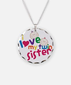 Twin Sister Necklace
