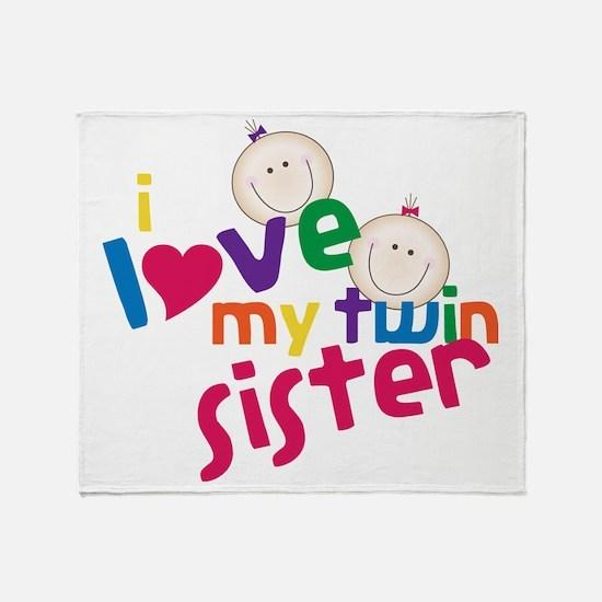 Twin Sister Throw Blanket