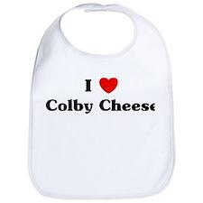 I love Colby Cheese Bib