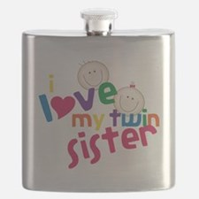 Love My Twin Flask
