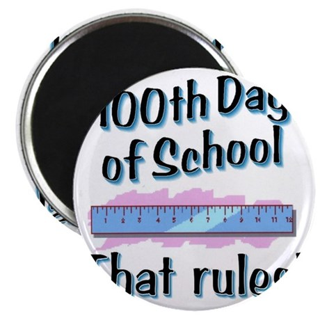 school rules WH BLU Magnet