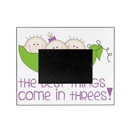 Come In Threes Picture Frame
