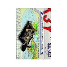 SKCC 2013 QSL 90 Rectangle Magnet