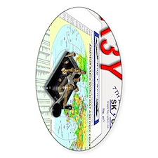 SKCC 2013 QSL 90 Decal
