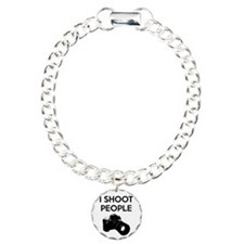 I shoot people - photogr Bracelet