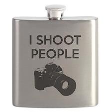I shoot people - photography Flask