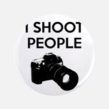 "I shoot people - photography 3.5"" Button"