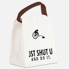 Wheelchair-Curling-AAU1 Canvas Lunch Bag