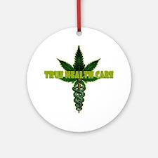 True Health Care Round Ornament