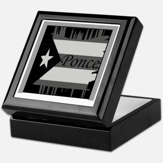 Ponce PR Keepsake Box