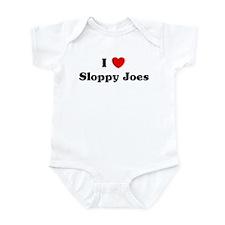 I love Sloppy Joes Infant Bodysuit