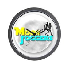 Official Moon Joggers Logo Wall Clock