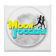 Official Moon Joggers Logo Tile Coaster