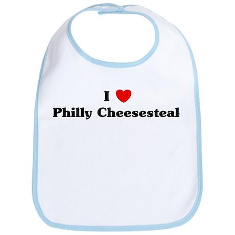 I love Philly Cheesesteak Bib