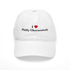 I love Philly Cheesesteak Baseball Baseball Cap