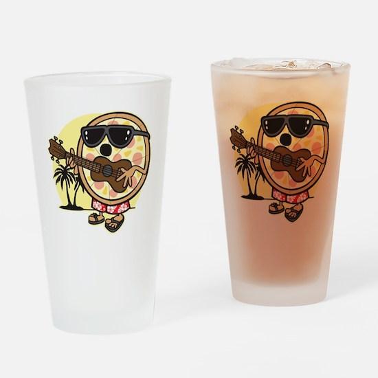 Hawaiian Pizza Drinking Glass