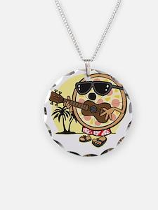Hawaiian Pizza Necklace