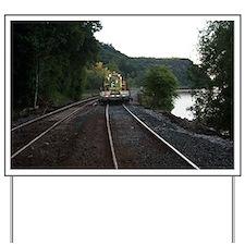 Train Yard Sign