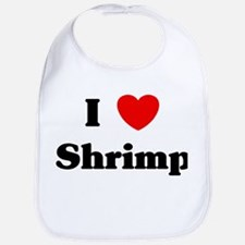 I love Shrimp Bib