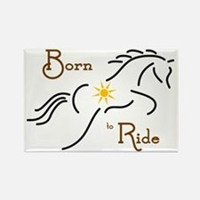 Born to Ride Rectangle Magnet