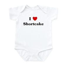 I love Shortcake Infant Bodysuit