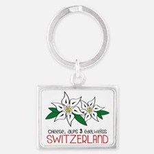 Switzerland Landscape Keychain