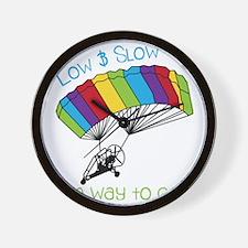 Powered Parachute Wall Clock