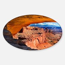 Mesa Arch Sticker (Oval)