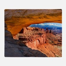 Mesa Arch Throw Blanket