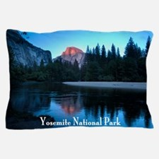 Half Dome sunset in Yosemite National  Pillow Case