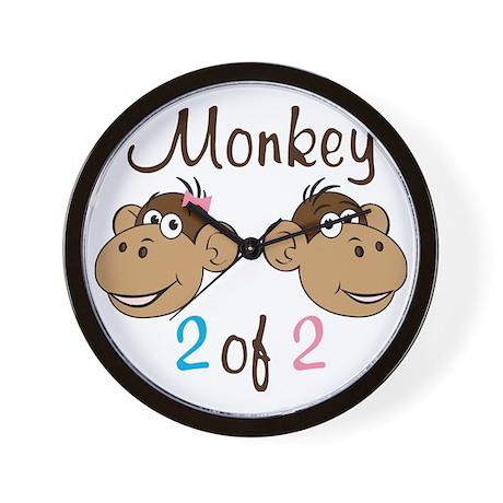 Monkey 2 Wall Clock