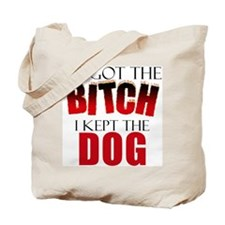 Dog Divorce Settlement Tote Bag