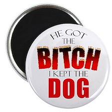 Dog Divorce Settlement Magnet