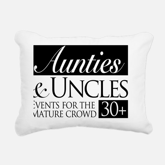 Aunties and Uncles Rectangular Canvas Pillow